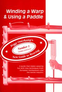 Winding a Warp & Using a Paddle | Weaving Books