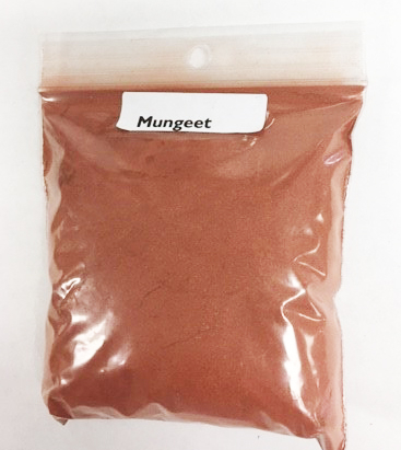 Mungeet Ground - 2oz pkg | Natural Dyestuffs & Mordants
