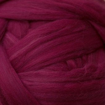 Ruby Colored Merino | Colored Merino Per Oz.