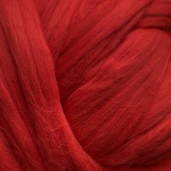 Red  Colored Merino | Colored Merino Per Oz.