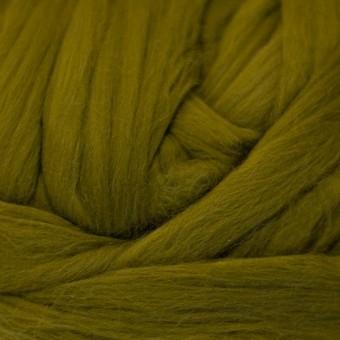 Olive Colored Merino | Colored Merino Per Oz.