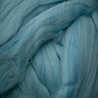 Aqua Colored Merino | Colored Merino Per Oz.