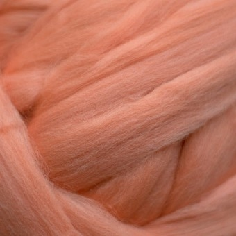 Salmon Colored Merino | Colored Merino Per Oz.