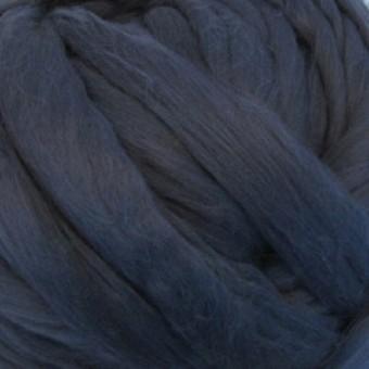 Midnight Blue Colored Merino | Colored Merino Per Oz.