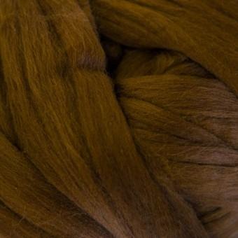 Brown Colored Merino | Colored Merino Per Oz.