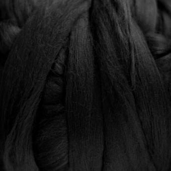Black Colored Merino | Colored Merino Per Oz.