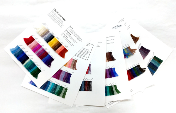 JaggerSpun Wool Color cards | Color Cards