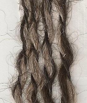 121 Charcoal, Fawn, Black | Peruvian Tweed