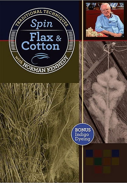 Spin Flax & Cotton | Spinning DVDs
