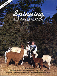 Spinning Llama and Alpaca  3rd Edition | Spinning Books