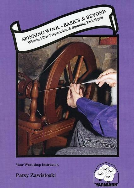 Spinning Wool Basics & Beyond   DVDs