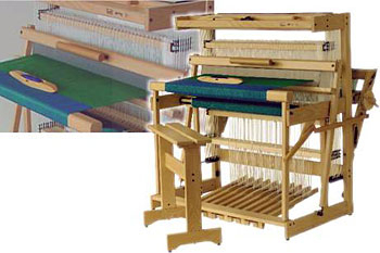 Louet Spring Treadle Floor Looms | Floor Looms