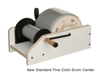 Louet Drum Carder Standard (Extra Fine) | Carding and Combing