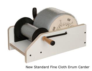 Drum Carder Standard (Extra Fine)   Louet Carding