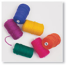 Variety Yarn Package 2-Ply A - BRIGHT COLORS | Kids Shop