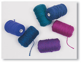 Variety Yarn Package 2-Ply B - JEWEL COLORS | Kids Shop