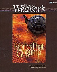 The Best of Weaver's: Fabrics That Go Bump | Weaving Books