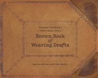 Image Brown Book of Weaving Drafts