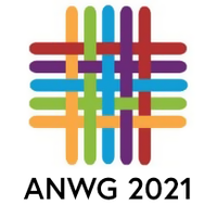 Image Yarn in Conference Colors: ANWG 2021