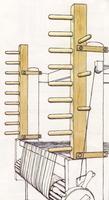 Image Glimakra Ronja Warping Frame for Standard Loom