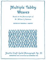 Image Multiple Tabby Weaves, Revised