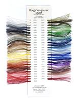 Image Borg's Mora Wool Color Card