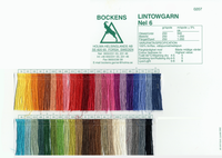 Image Bockens 6/1 Tow Linen Color Card