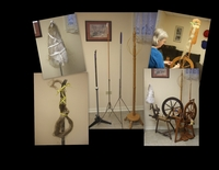 Flax, A Very Old Spinning Challenge With Patsy Zawistoski