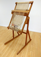Image Oak Tapestry Loom