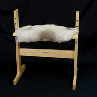 Image Glimakra Reindeer Pelt Bench Cover for Small Bench