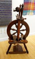Image Used Haldane Shetland Spinning Wheel