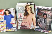 Image Assorted Knitting Machine Magazines (lot of 45)