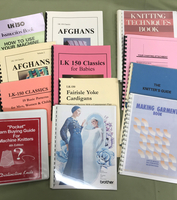 Image Assorted Knitting Machine Books and Manuals (Lot of 13)