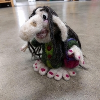 Needle Felting Goblins, Witches, & Trolls!