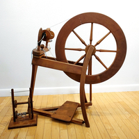 Image Ashford Traditional Spinning Wheel with Kate