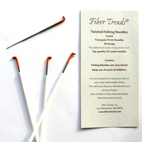 Image Fiber Trends Felting Needles, Twisted (38 gauge)