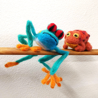 Needle Felting Frogs & Toads