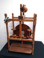 Image Used Chair-Frame Spinning Wheel