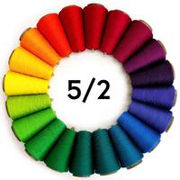 Image 5/2 Tubular Spectrum 8oz Mercerized Cotton