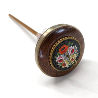 Image Golding Ring Spindle - Flowers