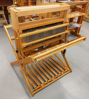 Image Used Baby Wolf loom 8 shafts, & High Castle!