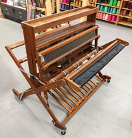 Image Beautiful Walnut Mighty Wolf 8 shaft loom