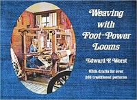 Image Weaving with Foot-Power Looms (used)