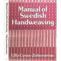 Image Manual of Swedish Handweaving (Used)