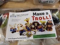 Image Make a Troll! Felting kit