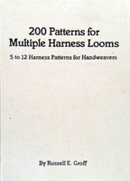 Image 200 Patterns for Multiple Harness Looms (used)