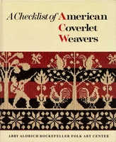 Image Checklist of American Coverlet Weavers (used)
