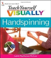 Image Teach Yourself Visually Handspinning (used)