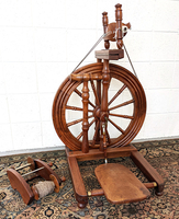 Image Used Wallace Van Eaton Spinning Wheel