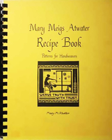 Image Mary Atwater Recipe Book (used)